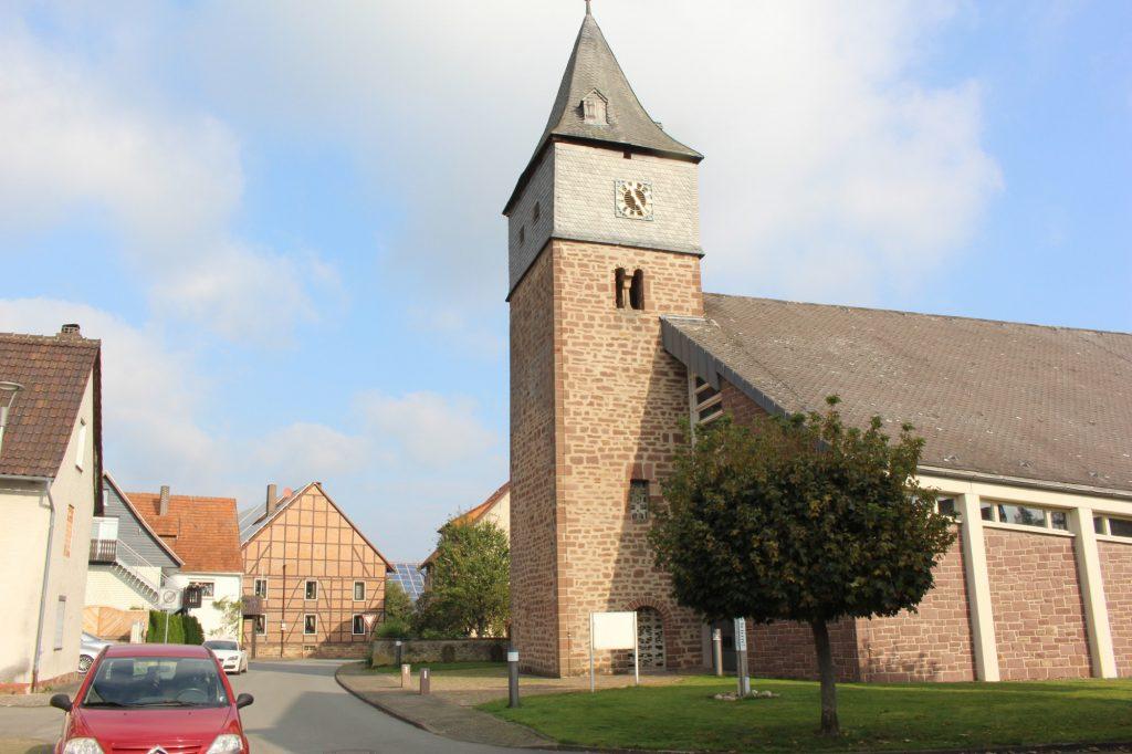 Grundsteinlegung Pfarrkirche St. Nikolaus
